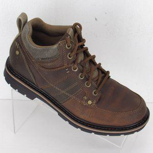 SKECHERS Relaxed Fit Boots Men's 8 Brown #149